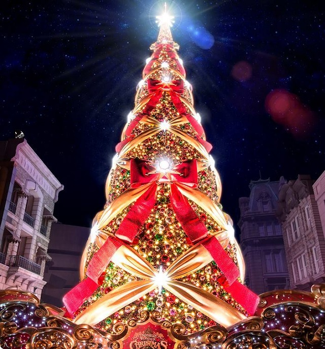 The world's most illuminated Christmas Tree, Osaka, ...