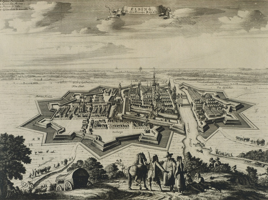 Elbing in Prussia – 17th century.
