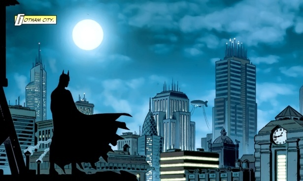 The defining characteristic of Gotham must be that there is always crime … Batman.