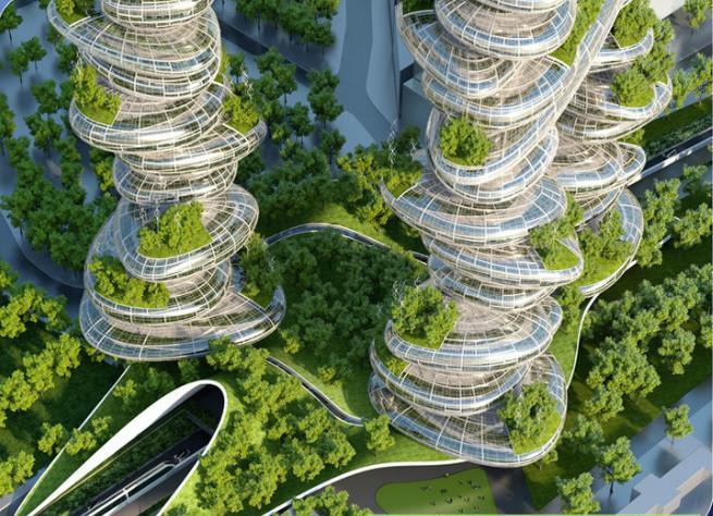Futuristic Smart City Models Of Paris CITI IO