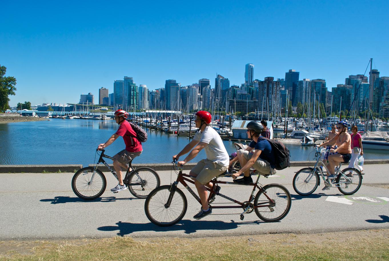Best Biking Cities In Canada