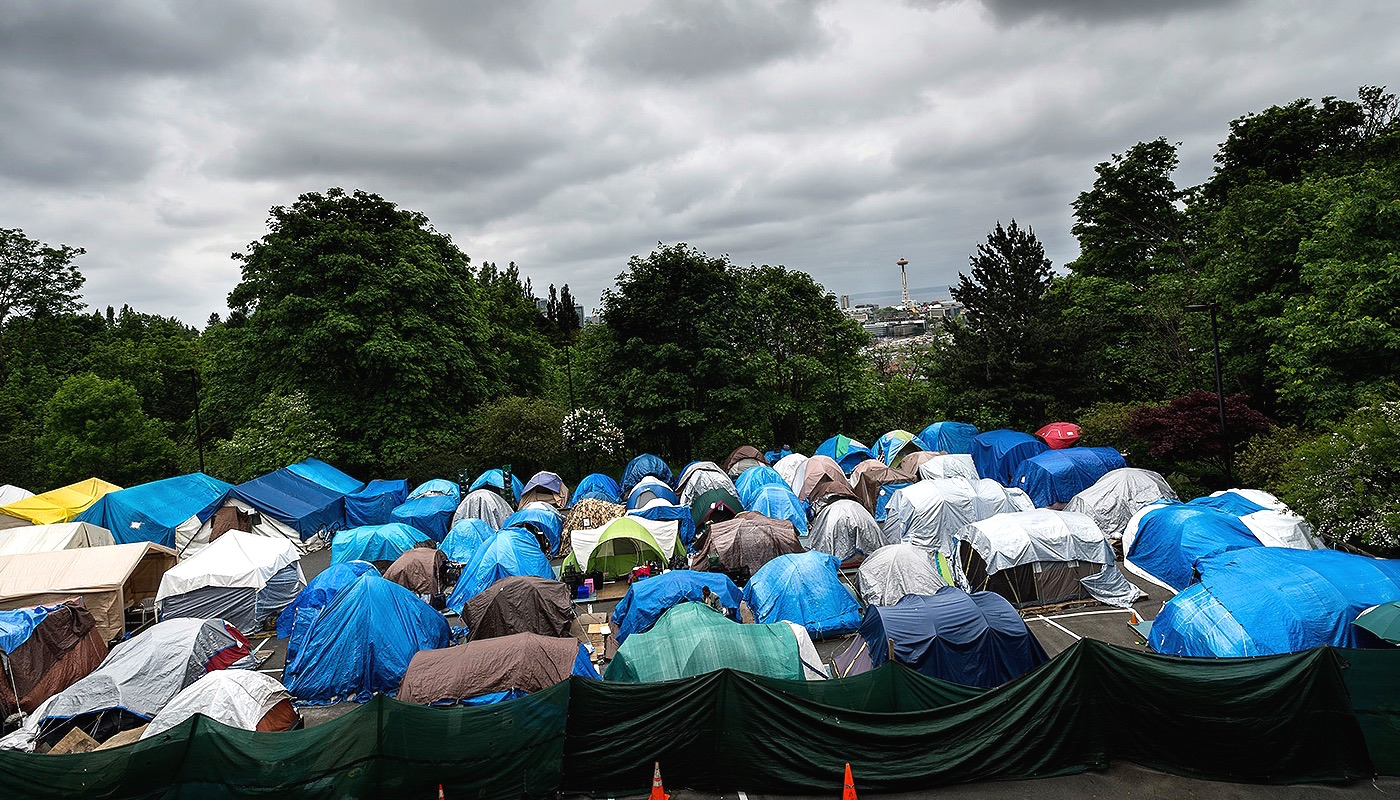 & Why Seattle Cleared Up Three Tent Cities For Homeless | CITI IO
