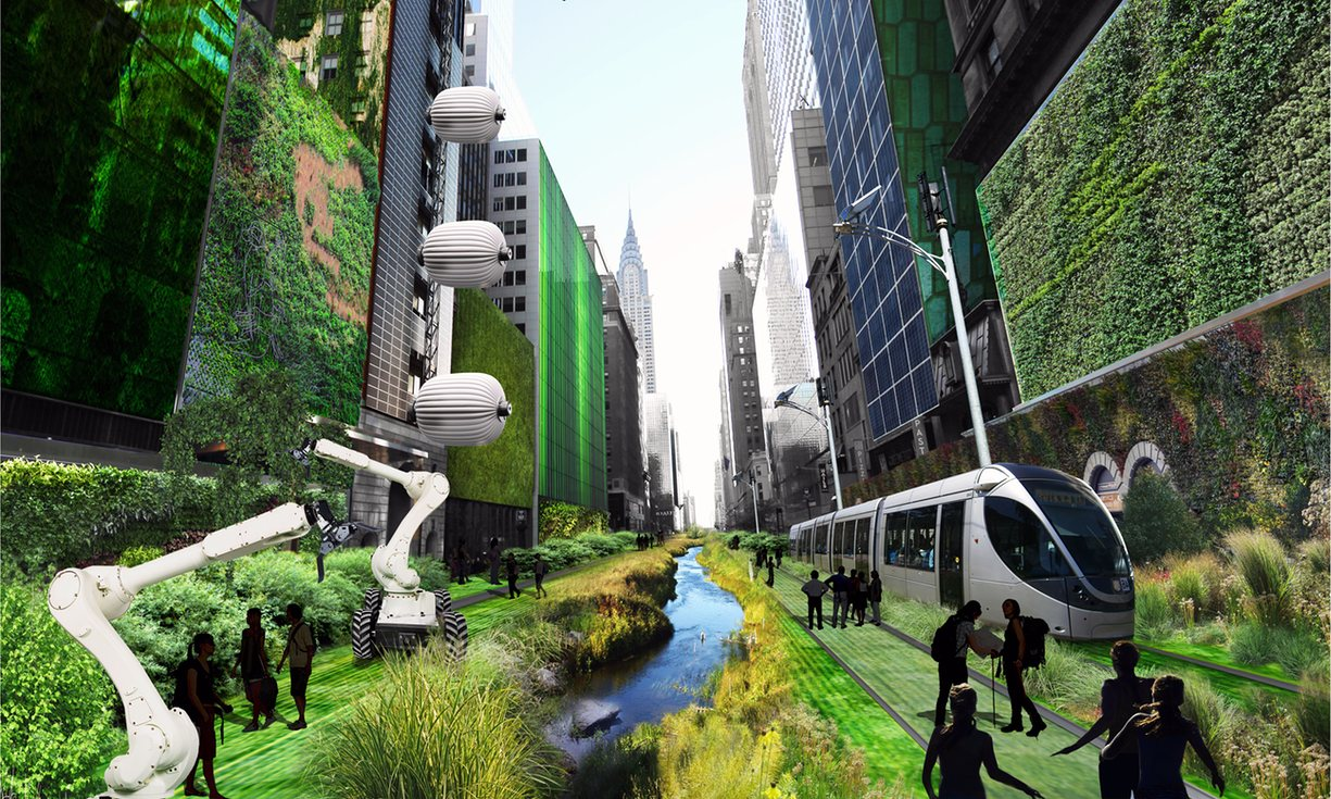 Sci fi cities mega cities of the future as imagined or What s it like to live in a small town