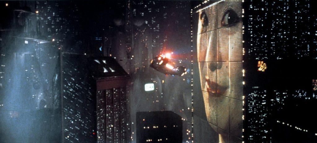 Blade Runner's futuristic city scene. Photograph: Allstar/Cinetext/Warner Bros