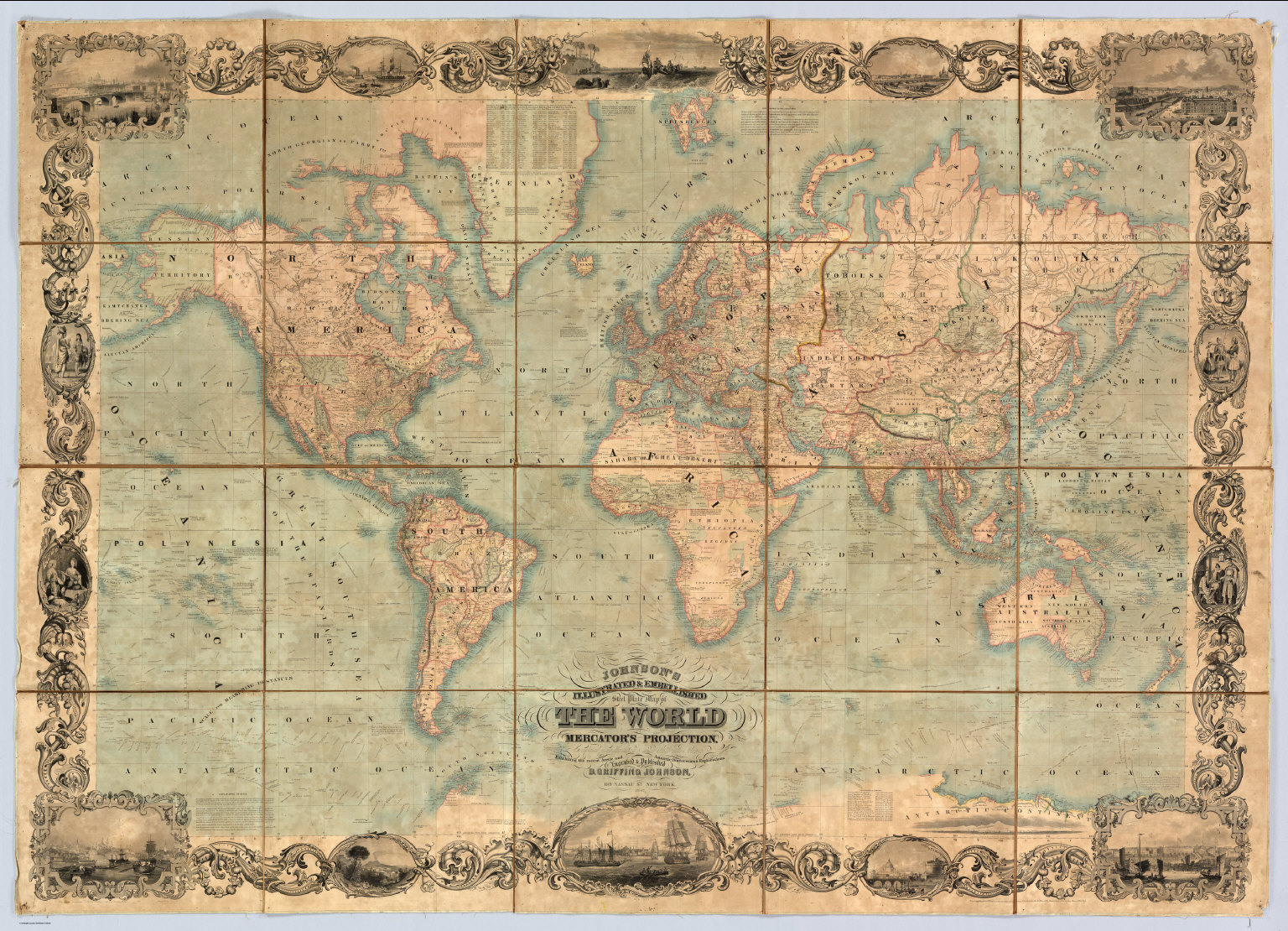 Mercator and the Map that 'Squared the Circle'