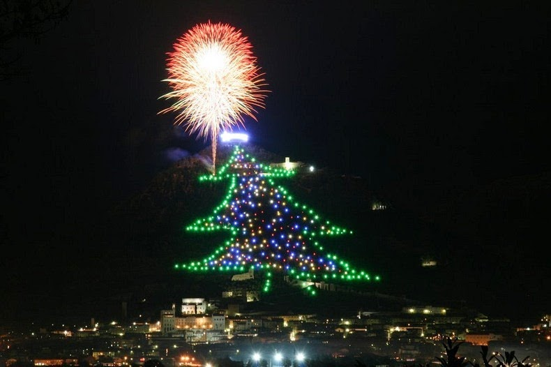 When The Mountain Is The Tree For Your Christmas