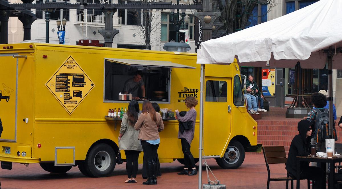 Vegan Food Truck Portland Oregon