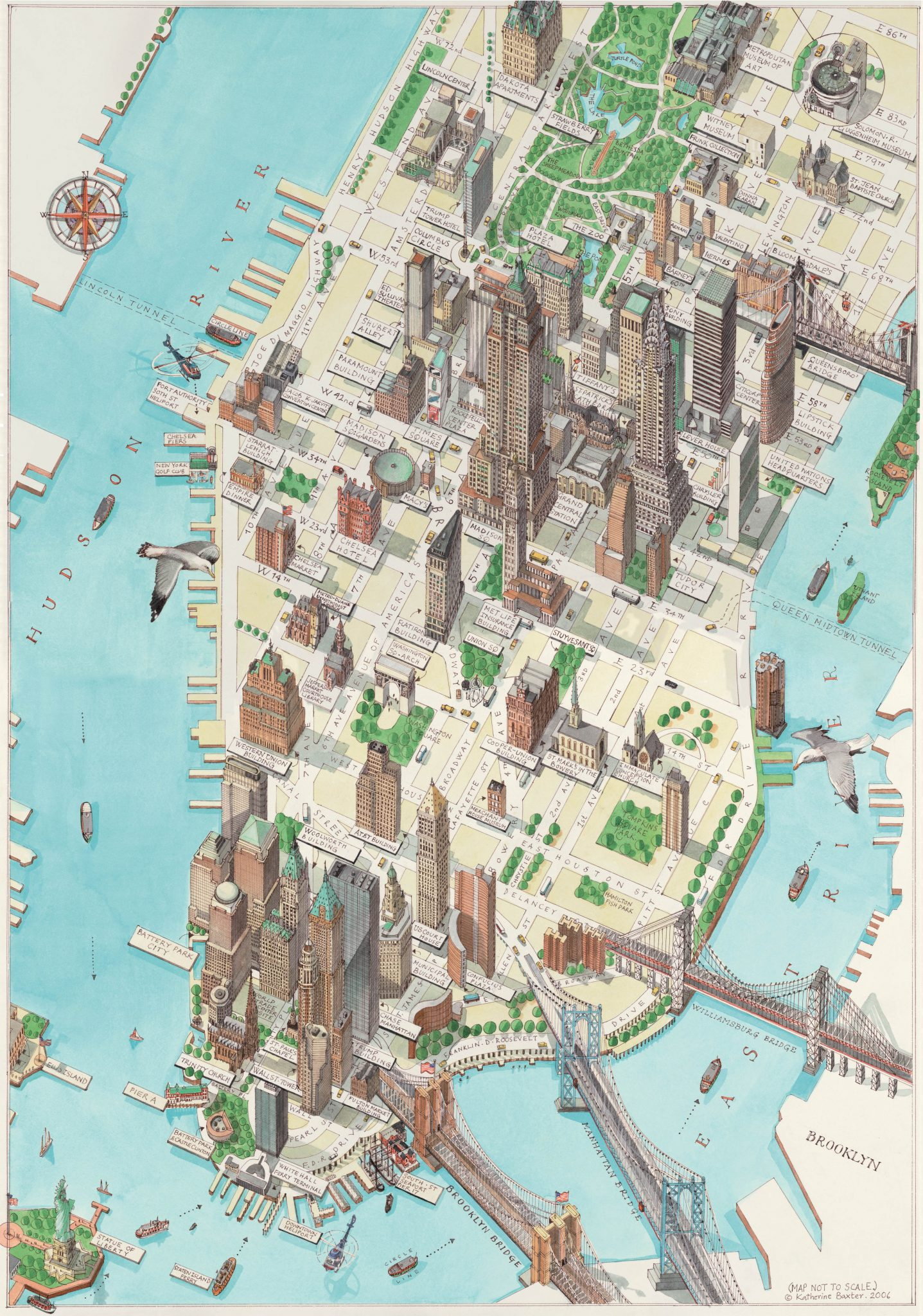 Multidimensional Maps That Provide New Perspectives On New York City ...